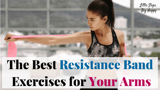 The Best Resistance Bands Exercises for Your Arms